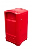 Контейнер для мусора Rubbermaid FG396458RED